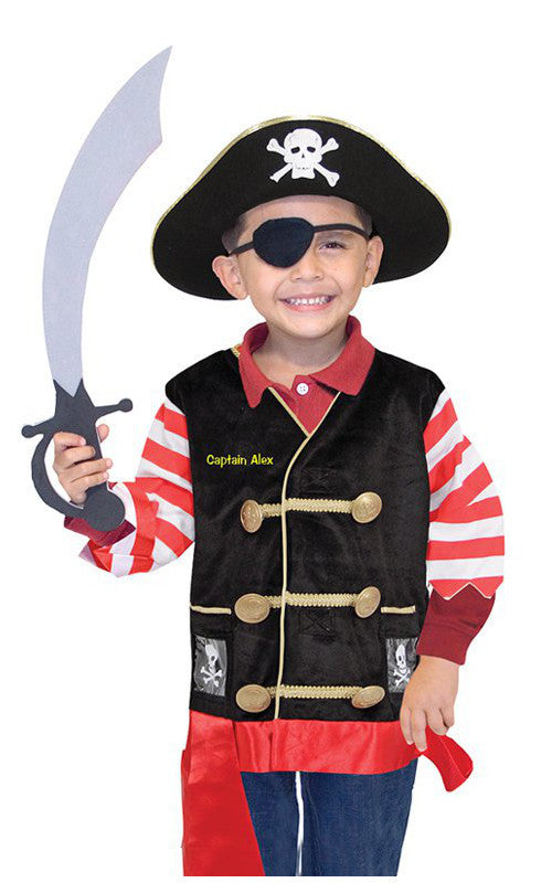 Melissa and Doug Dress Up Pirate