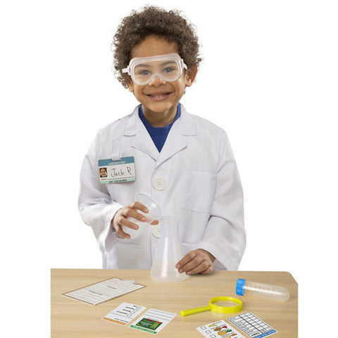 Melissa and Doug Dress Up Scientist 2