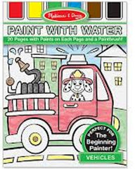 Melissa and Doug Paint with Water Vehicles