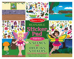 Reusable Sticker Pad - Fairies by Melissa and Doug
