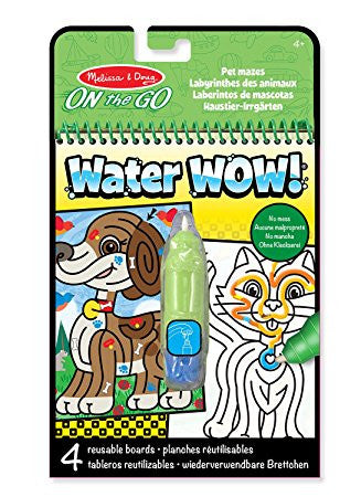 Melissa and Doug Water Wow Pet Mazes On the Go