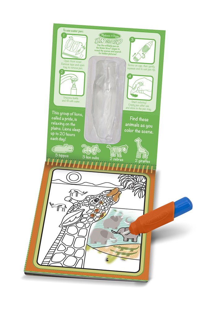 Melissa and Doug Water Wow Safari2