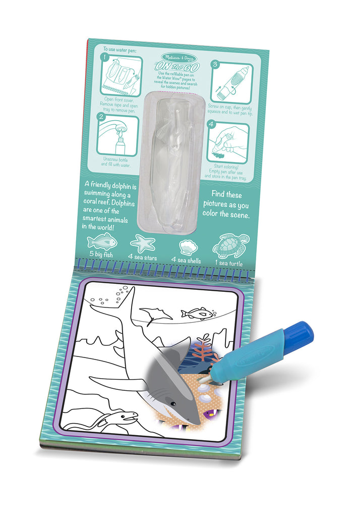 Melissa and Doug Water Wow Under the Sea2