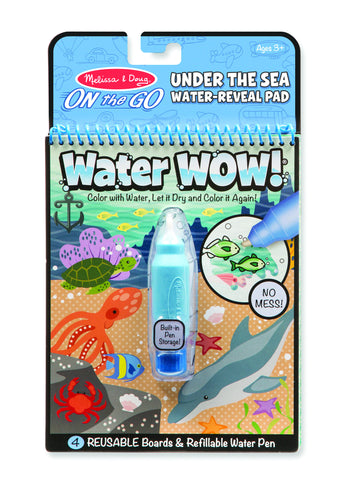 Melissa and Doug Water Wow Under the Sea