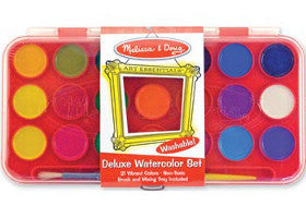 Melissa and Doug Watercolour Deluxe Paint Set 21 Colours