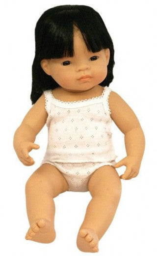 Miniland Doll Asian Girl