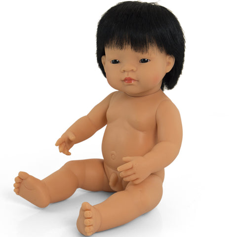 Doll Boy Asian 38cm No Clothes