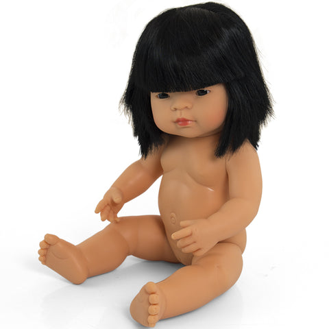 Doll Girl Asian 38cm No Clothes
