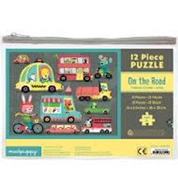 Mudpuppy Puzzle On the Road 12 pc