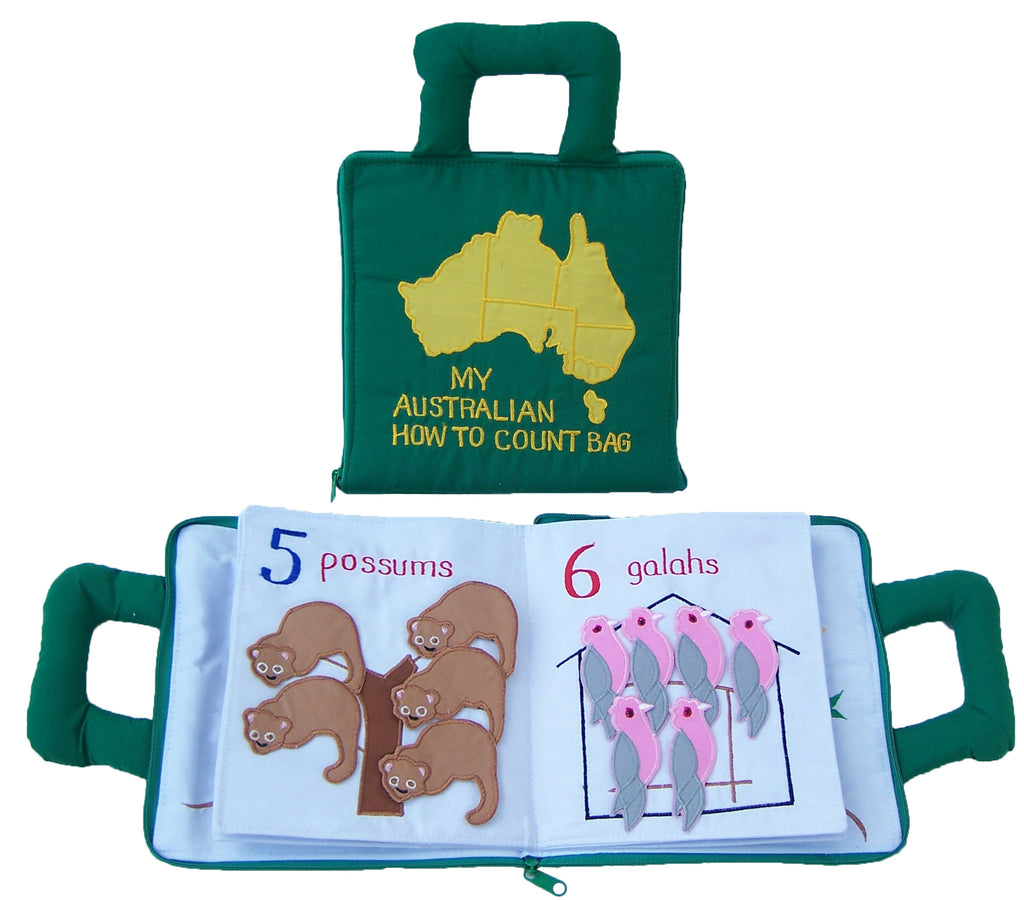 My Australian How to Count Book