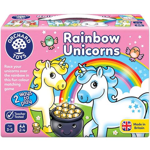 Orchard Toys Rainbow Unicorns Game