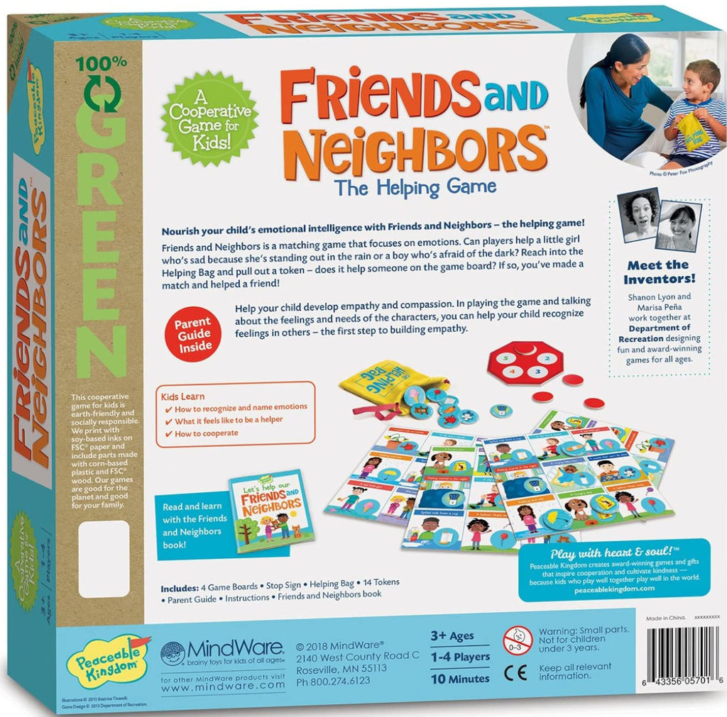 Peaceable Kingdom Friends and Neighbours Game 2