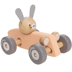 Plan Toys Bunny Racing Car Wooden
