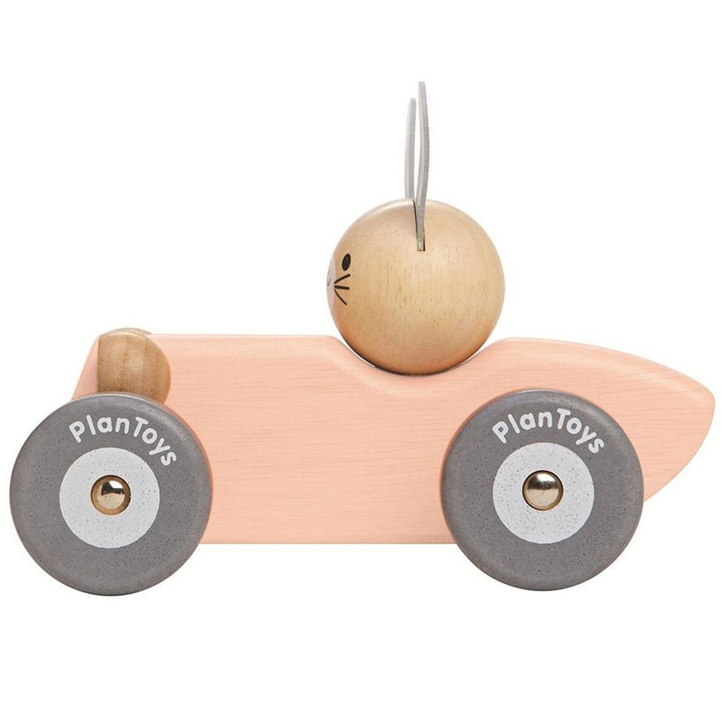 Plan Toys Bunny Racing Car Wooden 2