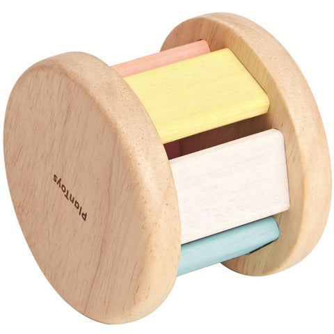 Plan Toys Roller Rattle Pastel Wooden 2