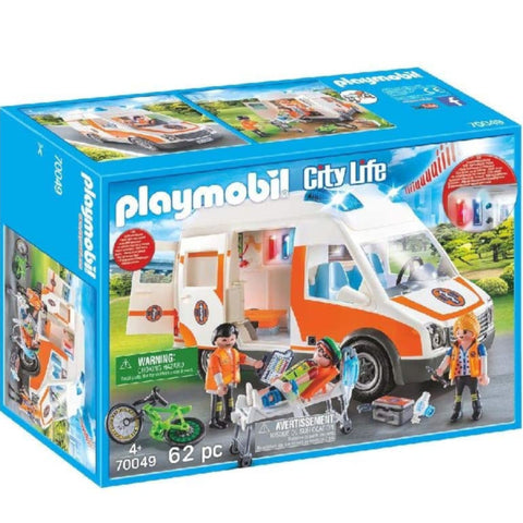 Playmobil Ambulance with Flashing Light