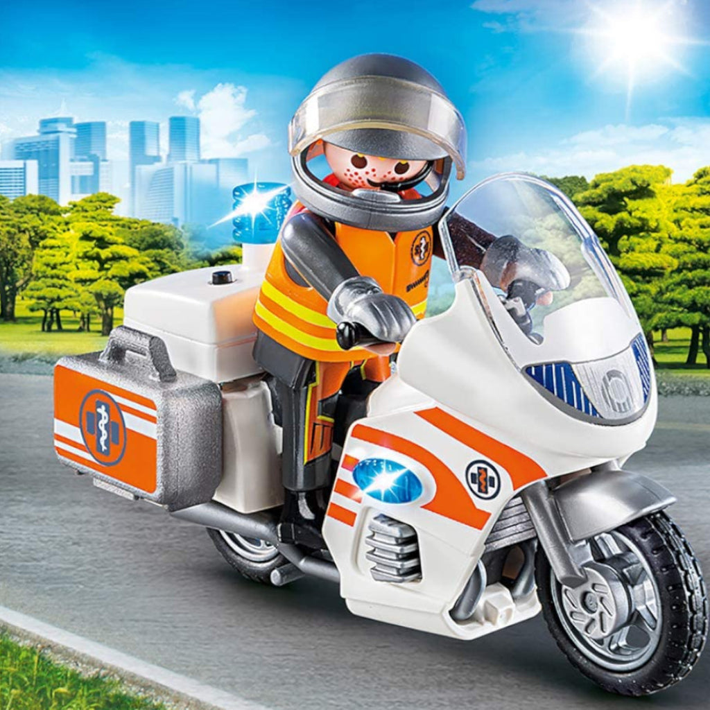 Playmobil Motorbike Emergency 3