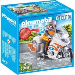 Playmobil Motorbike Emergency
