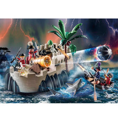 Playmobil Pirates Redcoat Bastion 1