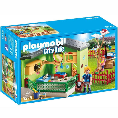Playmobil Purrfect Stay Cat Boarding Set