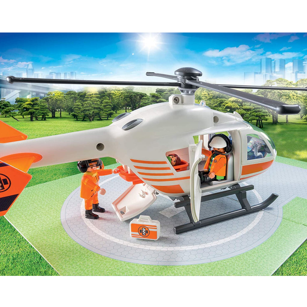 Playmobil Rescue Helicopter 3