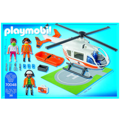 Playmobil Rescue Helicopter 4