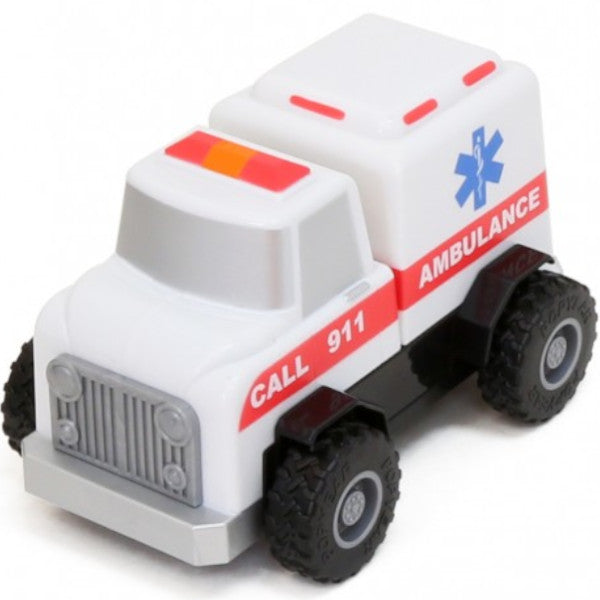 Build A Truck >> Popular Playthings Magnetic Build A Truck Emergency