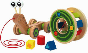 Hape Pull and Play Shape Sorter