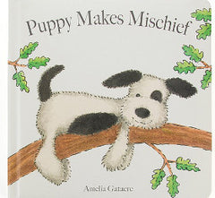 Puppy Makes Mischief Book