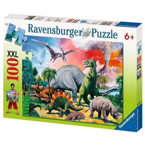 Ravensburger Puzzle Among the Dinosaurs 100pc