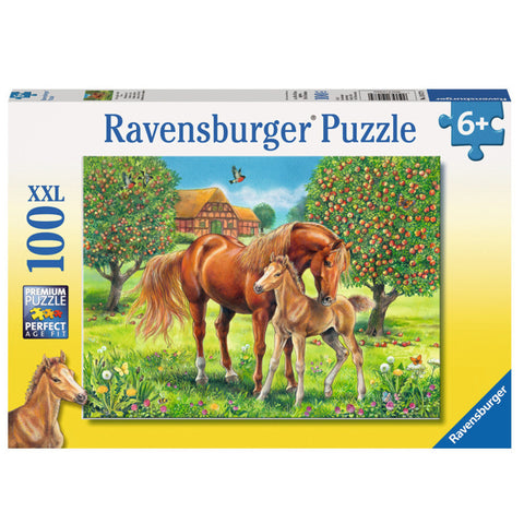 Ravensburger Puzzle Horses in the Field 100pc