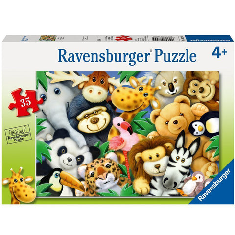 Ravensburger Puzzle Softies Animals 35pc