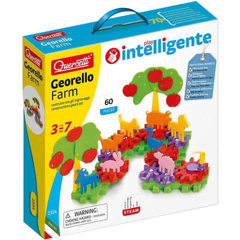 Quercetti Georello Farm 60pc