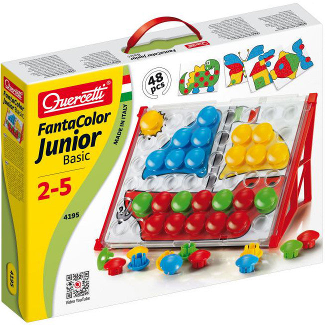 Quercetti 4195 FantaColor Junior Basic 48pcs
