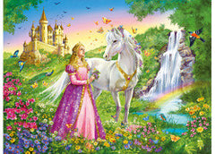 Ravensburger Puzzle Princess with Horse 200pc