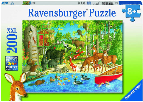 Ravensburger Puzzle Woodland Friends 200pc