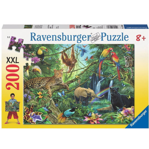 Ravensburger Puzzle Animals in the Jungle 200pcs