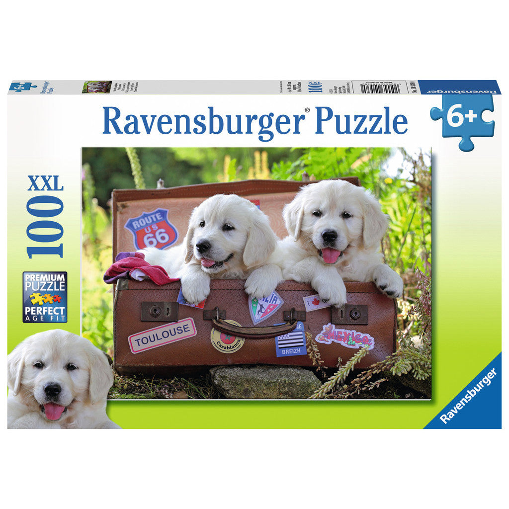 Ravensburger Puzzle Travelling Puppies 100pc