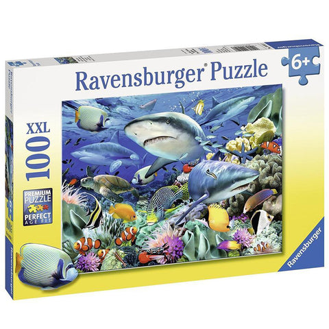 Ravensburger Reef Of The Sharks Puzzle 100pc