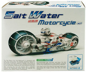 Salt Water Fuel Motorcycle