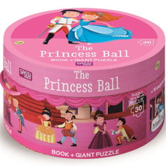 Sassi Giant Puzzle The Princess Ball 30pc and Book