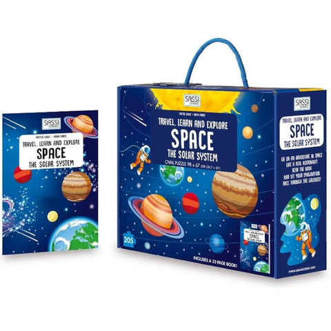 Sassi Science Puzzle Explore Space 205pc