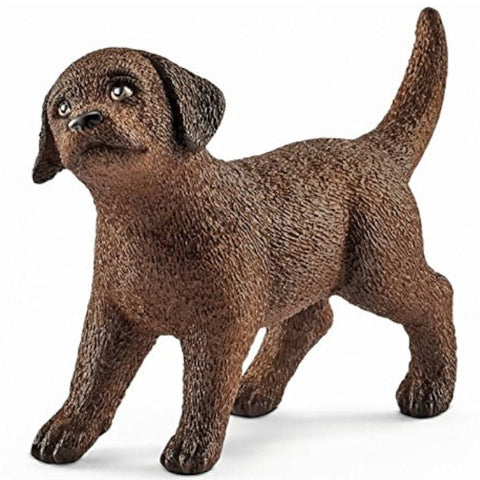 Schleich Dog Labrador Chocolate Puppy