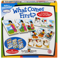 Small World Toys Sequencing What Comes First