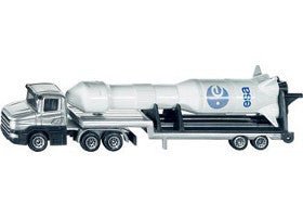 Siku Truck Low Loader with Rocket