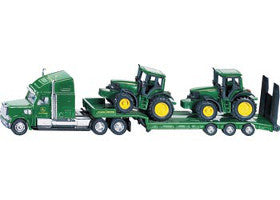 Siku Truck Low Loader with Tractors