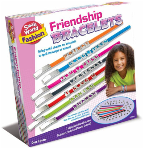 Small World Friendship Bracelets