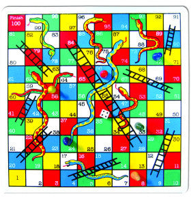 Fun Factory Snakes & Ladders
