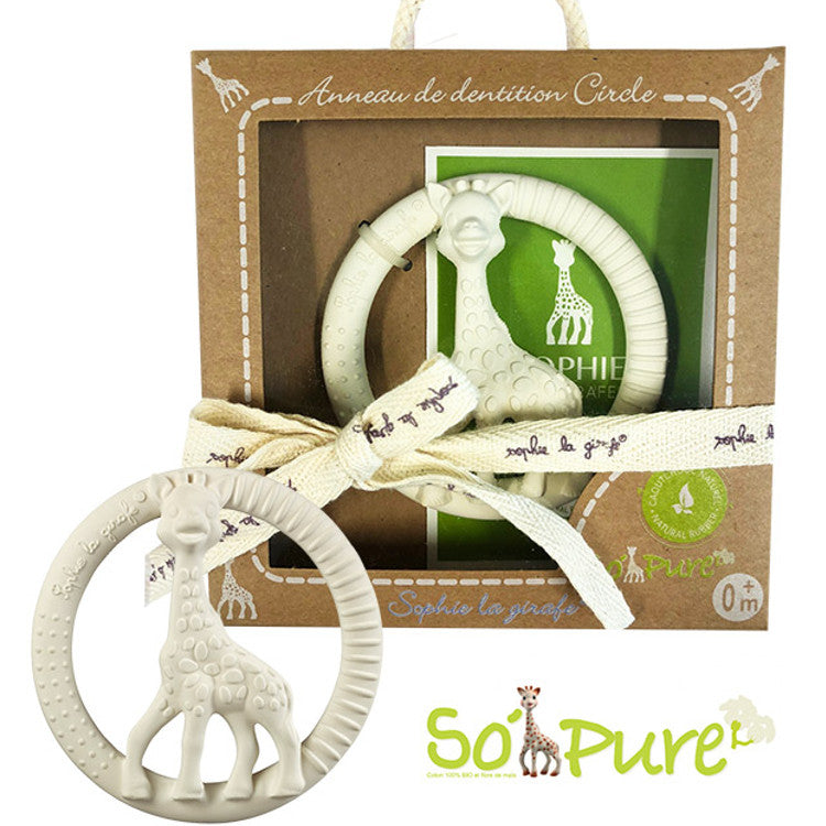 Sophie So Pure Circle Teether