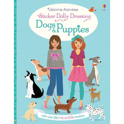 Usborne Sticker Dolly Dressing Dogs & Puppies Activity Book